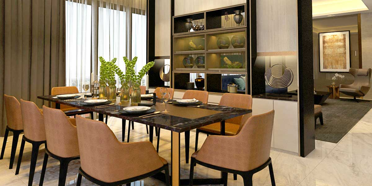 Dining Area for Landed House in Selangor