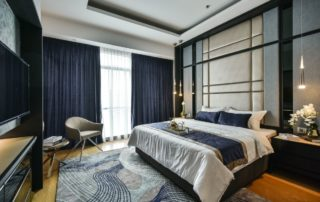 Ritz Corlton Residences Bedroom