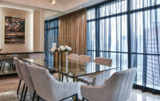 Ritz Corlton Residences Drawing Room
