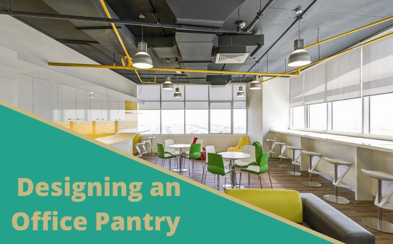 layout of office pantry