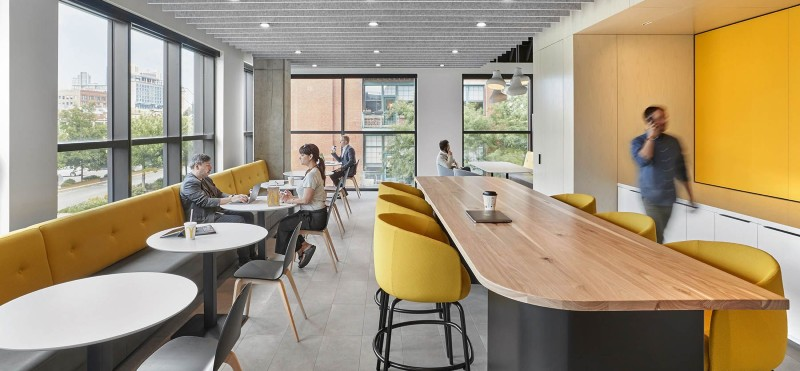 common space in office